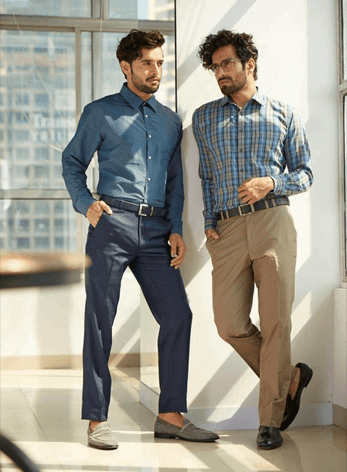 Everyday workwear simplified..plain or checks take your pick